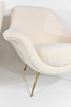ISA Bergamo I S A Italy Pair of chic armchairs - 1312957