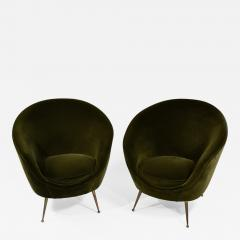ISA Bergamo I S A Italy Pair of chic egg chairs - 1532398