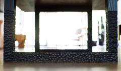 Ian Love Design Black Walnut Coffee Table With Hand Carved Ebonized Legs - 1527205