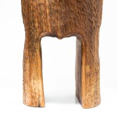 Ian Love Design Black Walnut Stool With Chattered Design - 1560128