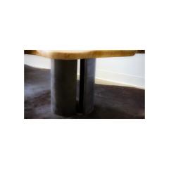 Ian Love Design Oak Coffee Table With Bent Wood Base - 1498533