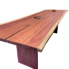 Ian Love Design Purple Heart Dining Table - 1496765