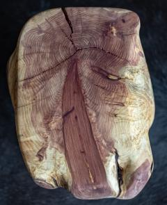 Ian Love Design Red Cedar Hand Carved Stool - 1504143
