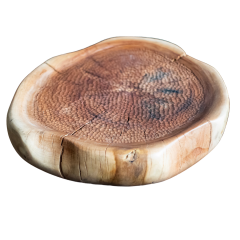 Ian Love Design Sycamore Vessel With Chattered Wood Design - 1820228