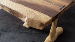 Ian Love Design Tulip Poplar Coffee Table - 1496773
