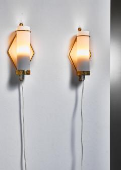 Idman Oy Maria Lindeman pair of wall lamps for Idman Finland 1950s - 977756