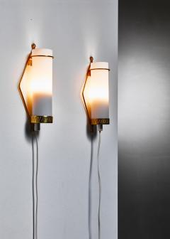 Idman Oy Maria Lindeman pair of wall lamps for Idman Finland 1950s - 977757