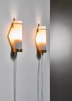 Idman Oy Maria Lindeman pair of wall lamps for Idman Finland 1950s - 977759