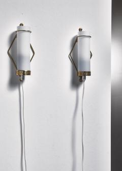 Idman Oy Maria Lindeman pair of wall lamps for Idman Finland 1950s - 977760