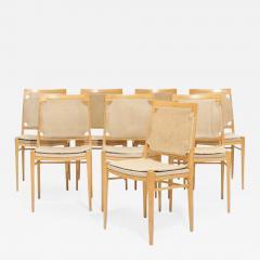 Illums Bolighus Eight Dining Chairs from Illum Bolighus - 1776577