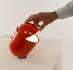 Imago DP Orange Elmo Table lamp by Str Imago DP 1971 - 1528066