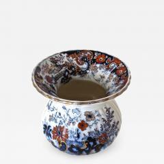 Imari Victorian Porcelain Spittoon Circa 1880 by Imari Japan - 1015292