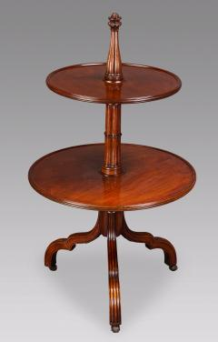 Ince Mayhew A George III Gothic Inspired Dumb Waiter Attributed to Mayhew Ince - 826217