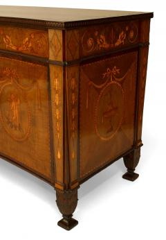 Ince Mayhew English Adam Style 18th Cent Mahogany Commode - 741031