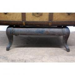 Indestructo Vintage Indestructo Trunk on Industrial Stand - 1079078