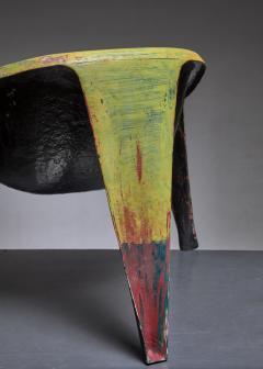 Ing G J Athmer Molded fiberglass prototype chair by Dutch architect Ing G J Athmer - 1191616