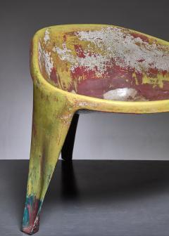 Ing G J Athmer Molded fiberglass prototype chair by Dutch architect Ing G J Athmer - 1191620