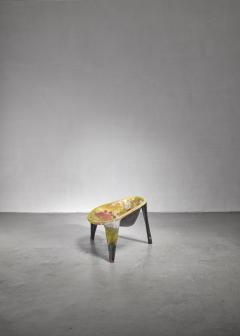 Ing G J Athmer Molded fiberglass prototype chair by Dutch architect Ing G J Athmer - 1191628