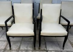 Interiors Crafts A Set of Six Art Deco Revival Chairs by Interiors Crafts - 78712