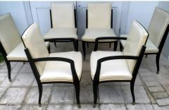 Interiors Crafts A Set of Six Art Deco Revival Chairs by Interiors Crafts - 78714