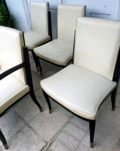 Interiors Crafts A Set of Six Art Deco Revival Chairs by Interiors Crafts - 78716
