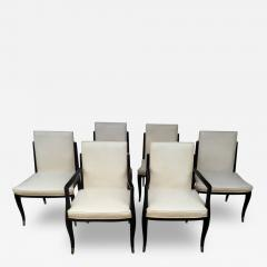 Interiors Crafts A Set of Six Art Deco Revival Chairs by Interiors Crafts - 79722
