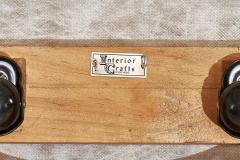 Interiors Crafts Interior Crafts Barrel Chair with Ottoman Walnut Base 1970 - 1793661