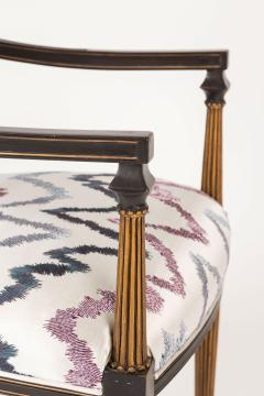 Interiors Crafts Set of Six Regency Style Armchairs by Interior Crafts Chicago - 421114