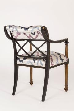 Interiors Crafts Set of Six Regency Style Armchairs by Interior Crafts Chicago - 421117