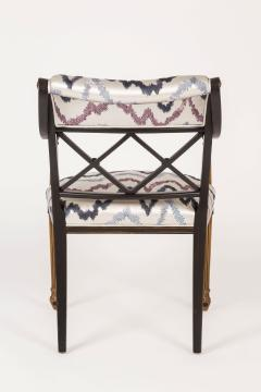 Interiors Crafts Set of Six Regency Style Armchairs by Interior Crafts Chicago - 421119