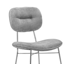 Interlude Home Abner Chair Ocean Grey - 1441141