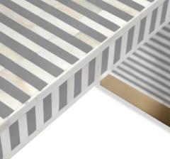 Interlude Home Beacon Console Table Grey - 1470644