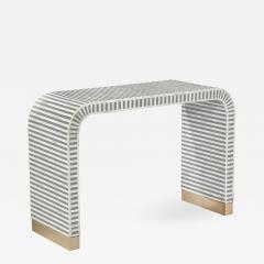 Interlude Home Beacon Console Table Grey - 1472988