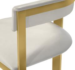 Interlude Home Darcy Dining Chair Cream - 1440692