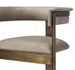 Interlude Home Darcy Dining Chair Taupe - 1440689
