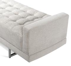 Interlude Home Luca King Bench Pearl - 1452459
