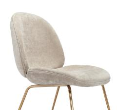Interlude Home Luna Dining Chair Beige Latte - 1432400