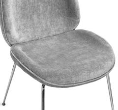 Interlude Home Luna Dining Chair Ocean Grey - 1440680