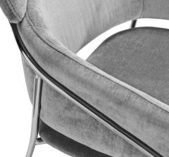 Interlude Home Marino Chair Ocean Grey - 1432398