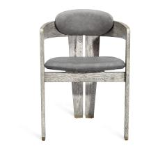 Interlude Home Maryl Dining Chair Light Grey - 1470818