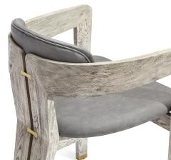 Interlude Home Maryl Dining Chair Light Grey - 1470836