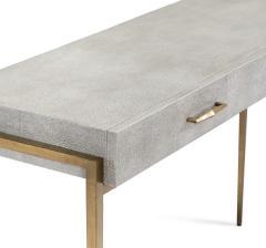 Interlude Home Morand Desk Console Grey - 1432342