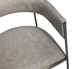 Interlude Home Ryland Dining Chair Charcoal - 1471098