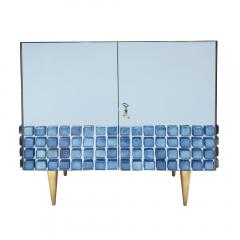 Interno 43 Blue Glass Cabinet by Interno 43 for Gaspare Asaro - 1653630