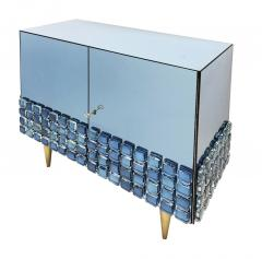 Interno 43 Blue Glass Cabinet by Interno 43 for Gaspare Asaro - 1653631