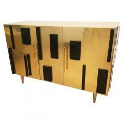 Interno 43 Brass and Glass Credenza by Interno 43 for Gaspare Asaro - 597103