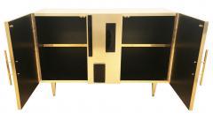 Interno 43 Brass and Glass Credenza by Interno 43 for Gaspare Asaro - 597105