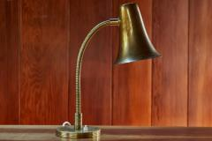 Itsu 1950s Model EV 46 Perforated Brass Finnish Table Lamp for Itsu - 1137242