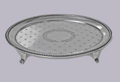 J E Caldwell Co American Sterling Silver Salver Tray by Caldwell C 1890 - 623798