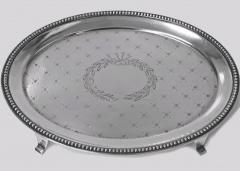 J E Caldwell Co American Sterling Silver Salver Tray by Caldwell C 1890 - 623799